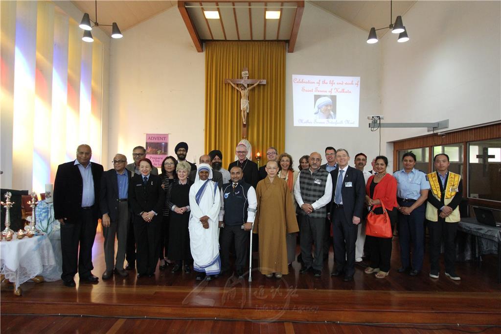 紐西蘭 News: 紐西蘭慶祝特蕾莎修女紀念日 唱響人我合一-人間通訊社