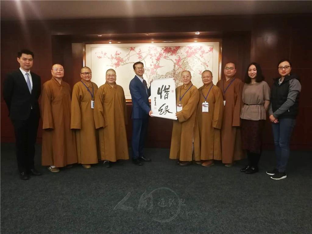 漢傳佛教 應積極走向世界舞台